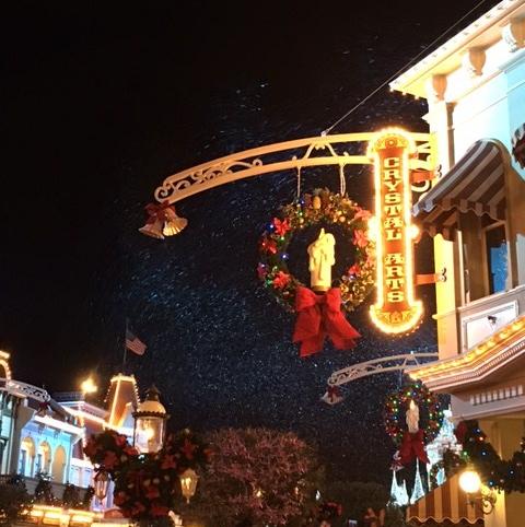 snow main street